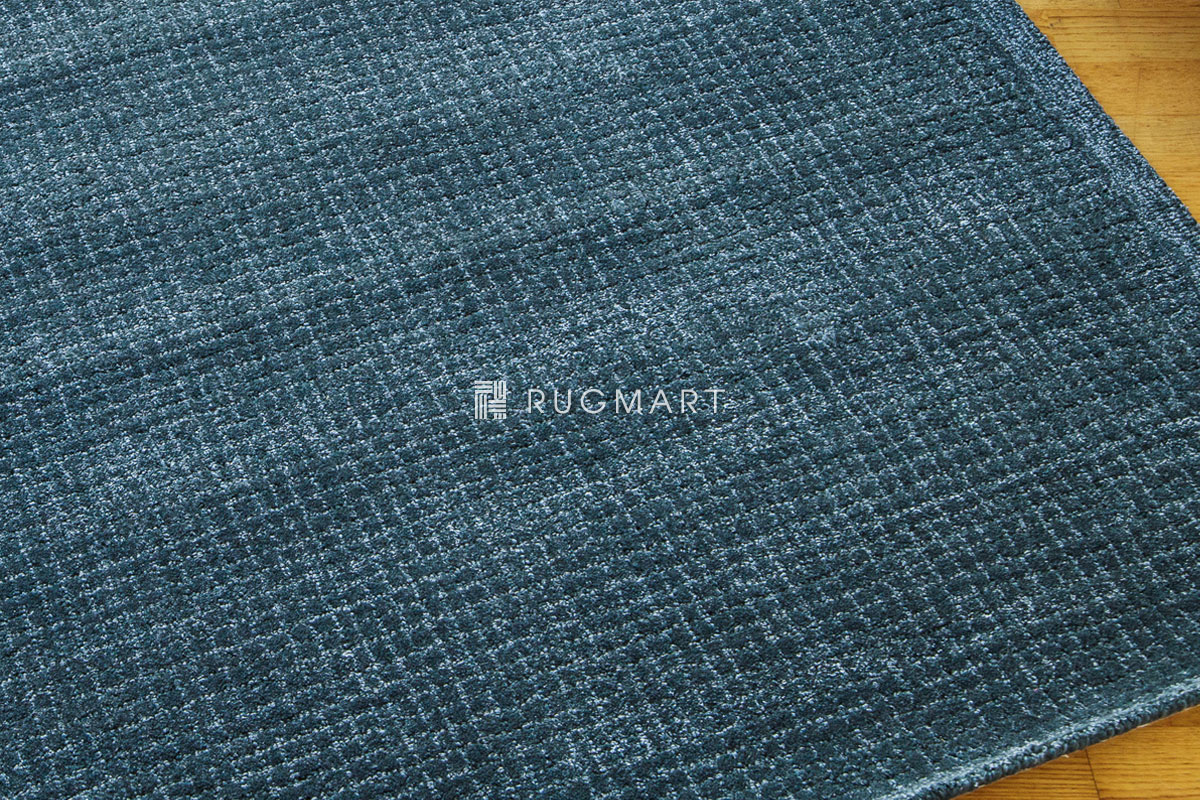 rugmart.jp ハンドタフテッド ウール&ヴィスコース DITO ダークテール ラグマット |