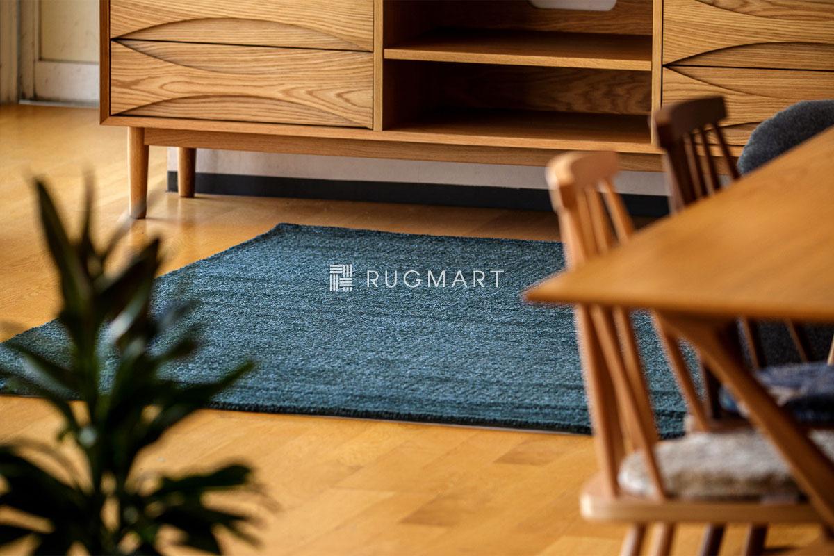 rugmart.jp ハンドタフテッド ウール&ヴィスコース DITO ダークテール |