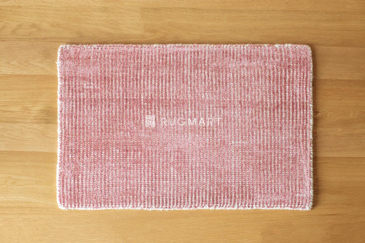 rugmart.jp ハンドルーム ノッテッド ウール&ヴィスコース FINESTO ダークローズ |
