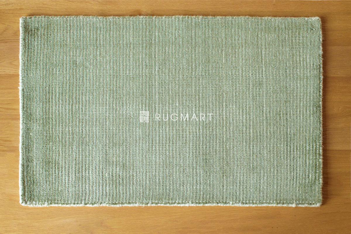 rugmart.jp ハンドルーム ノッテッド ウール&ヴィスコース FINESTO オリーブ |