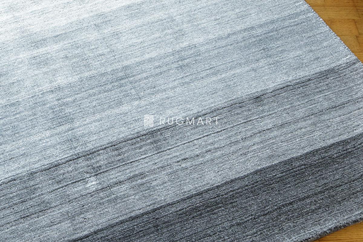 rugmart.jp ハンドルーム ヴィスコース&ウール Mix GAVINO-GRADATION グレーフュージョン |