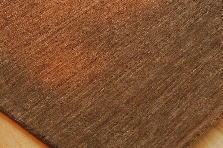rugmart.jp ハンドルーム ギャッベ レクサス コレクション  チョコレート |