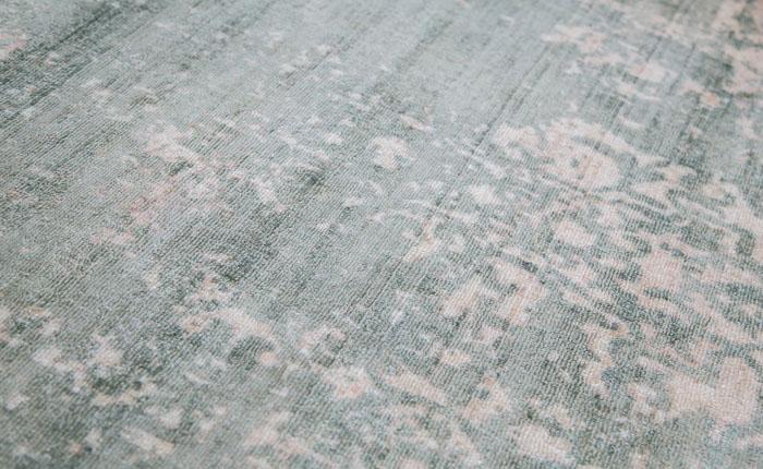 rugmart.jp ハンドルームノッテッド ヴィスコース VERONA9018 グリーン |